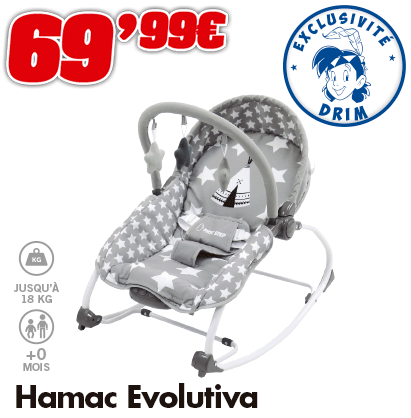 Hamac evolitif tipi 18kg