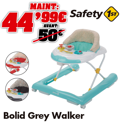 Safety 1st trotteur Bolid