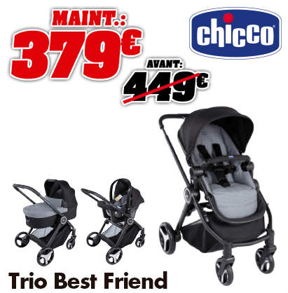 Chicco trio best friend
