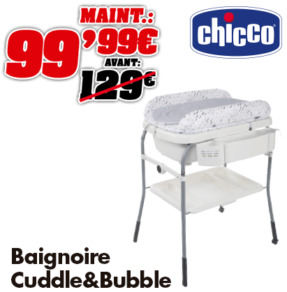 Chicco baignoire Cuddle & Bubble Cool