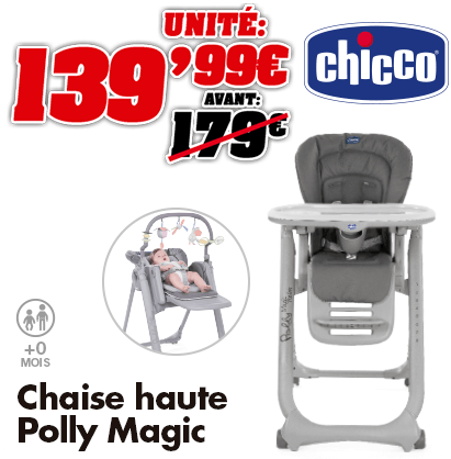 Chicco chaise-haute Polly Magic