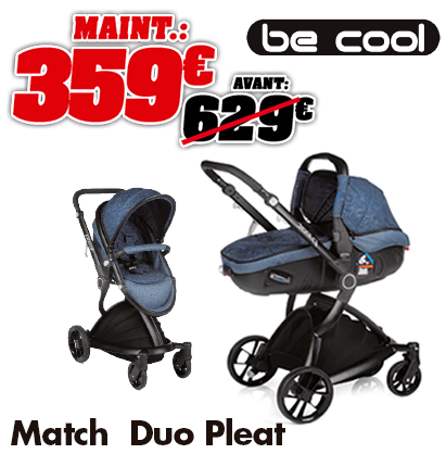 Be coll duo pleat match