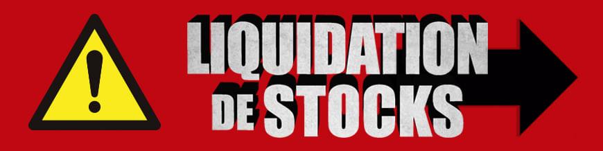 Liquidation de stocks