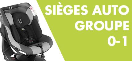 Sieges d'auto Groupe 0-1