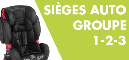 Sieges d'auto Groupe 1-2-3