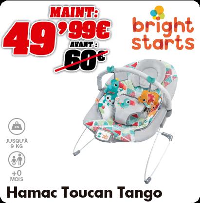 Bright Starts hamac toucan Tango